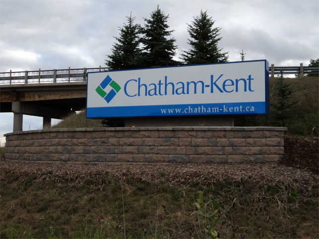 Chatham Kent sign