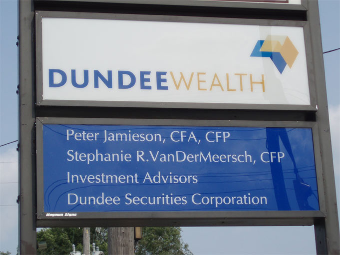 Dundee Insurance sign